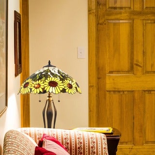 Tiffany-style Sunflower Table Lamp