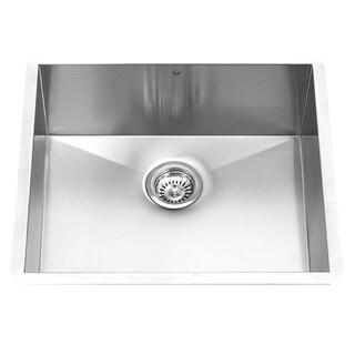 vigo 23inch undermount stainless steel 16 gauge single bowl kitchen sink