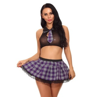 Halloween Party Womens Cosplay Fancy Dress School Girl Costume Lingerie