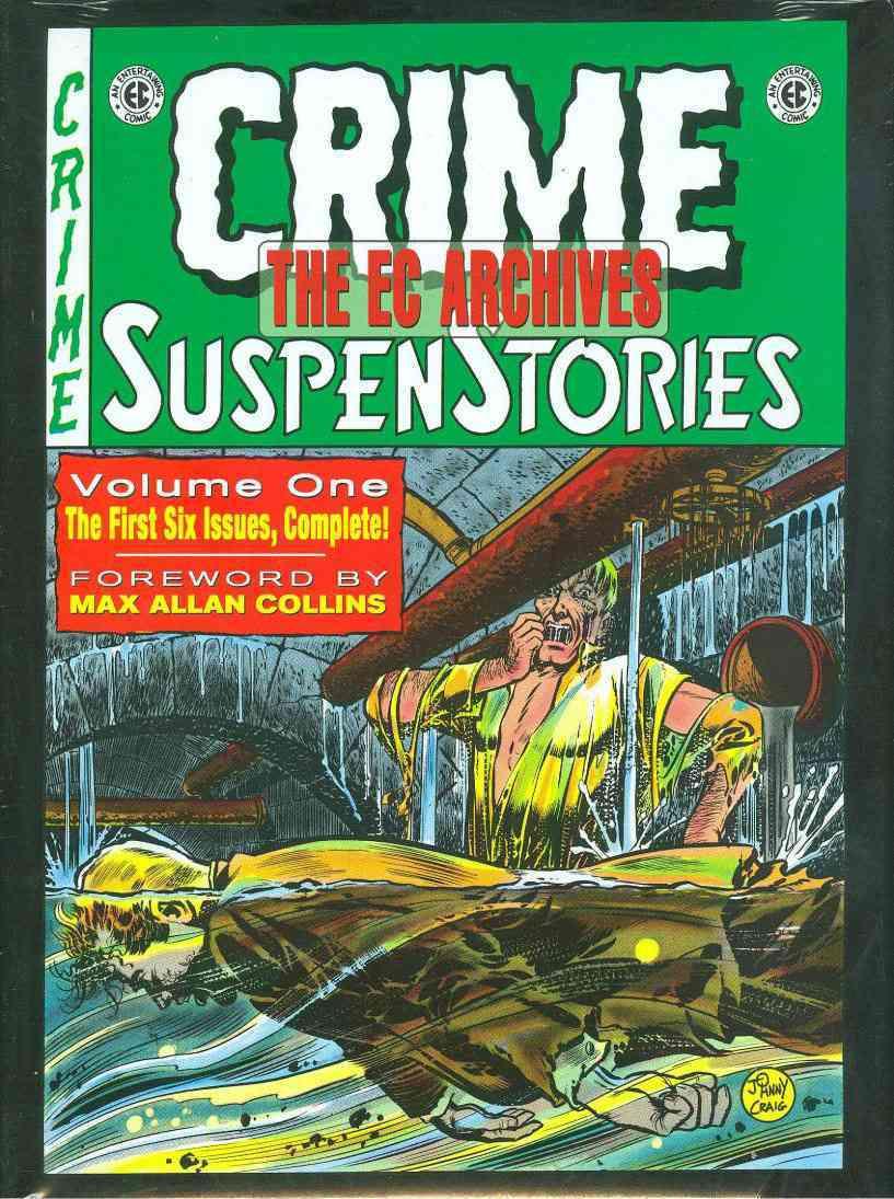 Crime SuspenStories 1 (Hardcover)