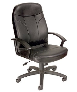Boss Bonded Leather Ergonomic Executive Office Chair