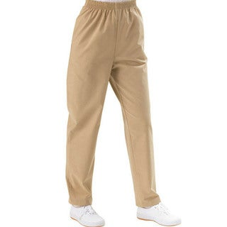 Medline Women's Two-Pocket Khaki Scrub Pants