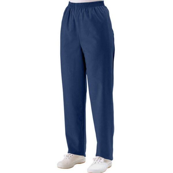 Medline Women's Two-pocket Mariner Blue Scrub Pants
