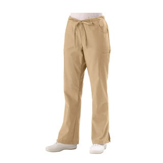 Medline Women's 5-pocket Khaki Cargo Scrub Pants