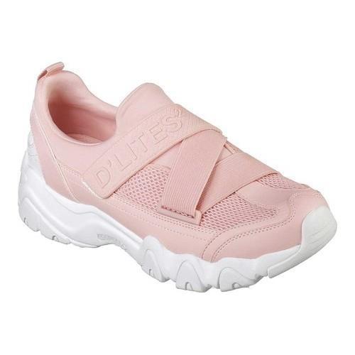 Women SKECHERS Sneakers Textile fibres Pastel pink VN50752
