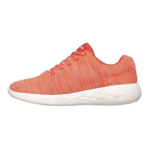 skechers go run coral