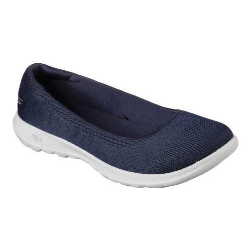Women's Skechers GOwalk Lite Skimmer Navy/Gray