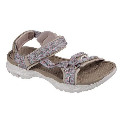 Shop Women s Skechers GOwalk Outdoors Runyon Trail Sandal Taupe - Free  Shipping On Orders Over  45 - Overstock - 19754617 e8bb9d421f
