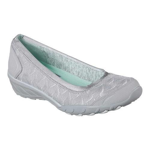 Women Savvy-Play The Game Closed Toe Ballet Flats Skechers mRBfI