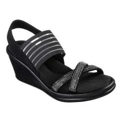 27be542d096f Women s ECCO Touch Strap Plateau Sandal Black Cow Full Grain Leather ...