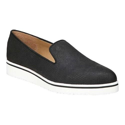Women's Franco Sarto Fabrina Slip On Black Kalibu Leather