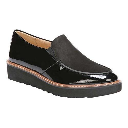 12d99b50179 Shop Women s Naturalizer Aibileen Moc Toe Loafer Black Patent Leather -  Free Shipping Today - Overstock - 19774629