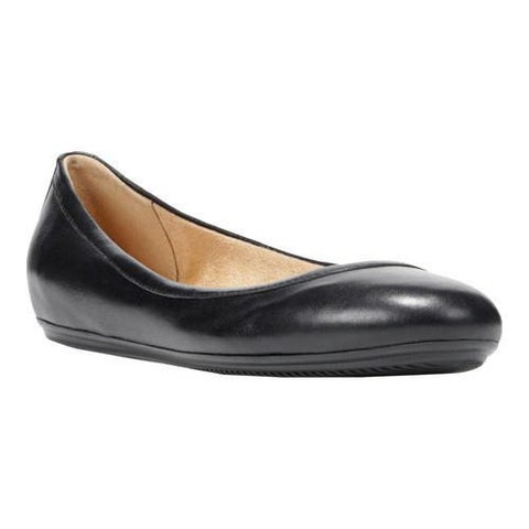 Women's Naturalizer Brittany Ballet Flat Black Leather