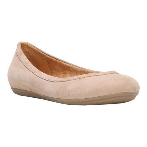 Womens Brittany Ballet Flat,Coffee Bean Leather,US 9.5 M Naturalizer