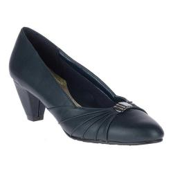 Women's Soft Style Dee Pump Navy Kid Synthetic (More options available)