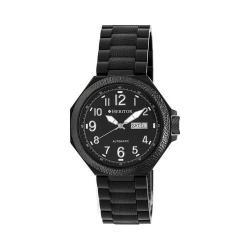 Men's Heritor Automatic HR5404 Spartacus Watch Black 316L Stainless Steel/Black