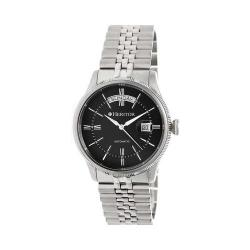 Men's Heritor Automatic HR5802 Vernon Watch Silver 316L Stainless Steel/Black