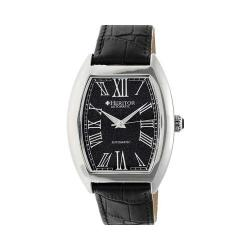 Men's Heritor Automatic HR6004 Baron Watch Black Crocodile Leather/Stainless Steel/Navy