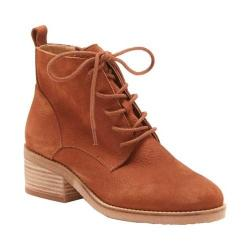 Women's Lucky Brand Tamela Lace Up Bootie Toffee Nubuck