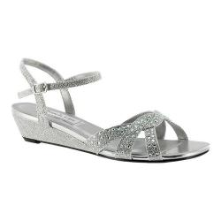 Women's Touch Ups Lena Strappy Sandal Silver Shimmer