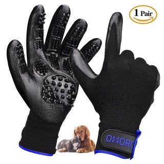 Pet Grooming Gloves, Left & Right, Pet Hair Removal Glove