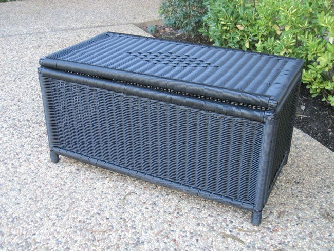 PVC and Steel Garden Storage Trunk