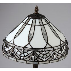 Tiffany Style White Jewels Table Lamp Free Shipping