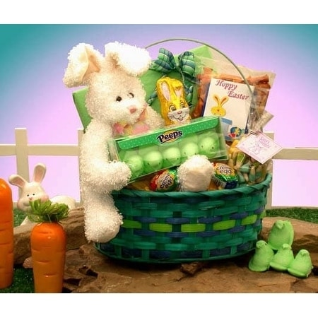Delightfully easter gift basket free shipping on orders over 45 delightfully easter gift basket free shipping on orders over 45 overstock 10576735 negle Images