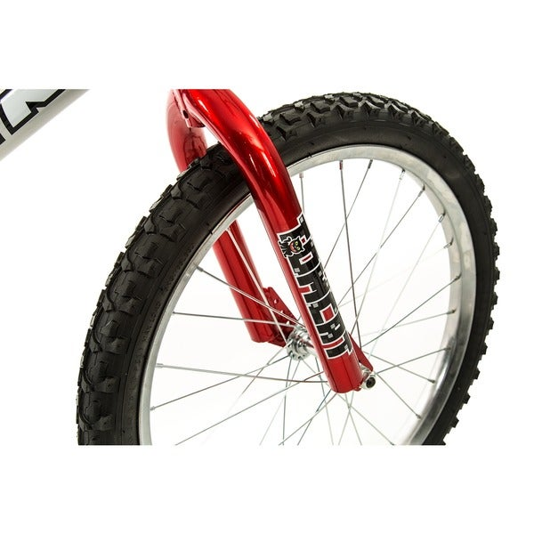 Titan Tomcat Boys BMX with 20 Wheel Silver//Red New