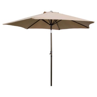 International Caravan Patio Umbrella 8-foot (Option: Beige)