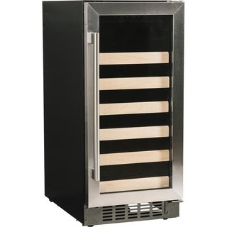 """Azure A115WC-S 15"""" Wine Cooler with Stainless Trim Glass Door"""