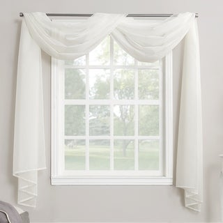 No. 918 Emily Sheer Voile Curtain Scarf - 59 w x 216 l