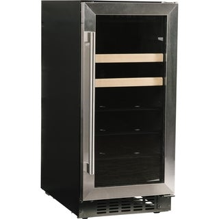 Azure - A115BEV-S - 15-Inch 3 Cu. Ft. Beverage Center - Stainless Steel