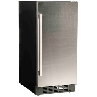 """Azure A115R-S 15"""" Refrigerator with Solid Stainless Door"""