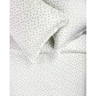 Printed Design Cotton Collection 400 Thread Count Blue Chic Floral Duvet Set