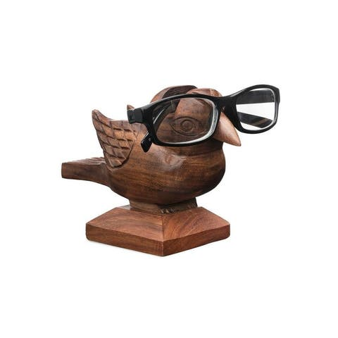 Handmade Sparrow Eyeglass Holder (India) - S