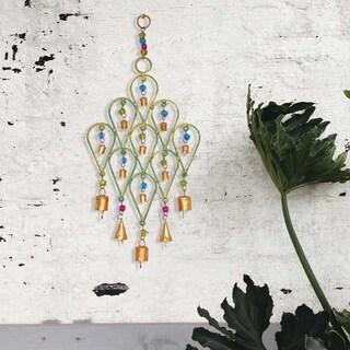 Handmade Beaded Chime Tear Drop Design (India)