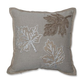 Pillow Perfect Falling Leaves Harvest Decorative 12-inch Throw Pillow