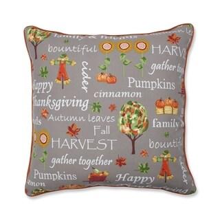 Autumn Harvest Haystack Indoor/Outdoor Floor Pillow