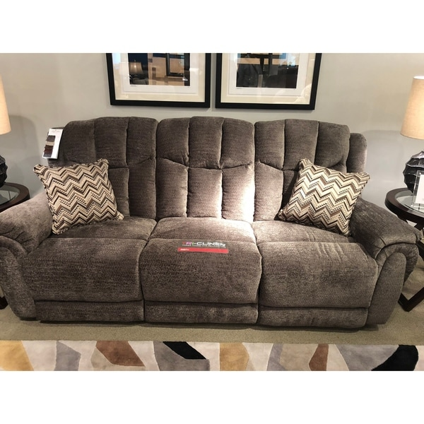 Southern Motion High Profile Brown Triple Reclining Sofa
