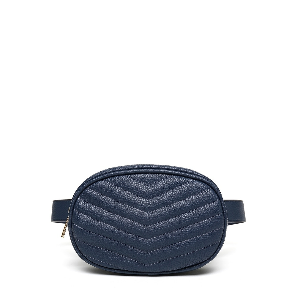 Mkf Collection Fatima Quilted Chevron Women S Belt Bag By Mia K Farrow