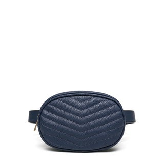 MKF Collection Fatima Quilted Chevron Women's Belt Bag by Mia K Farrow