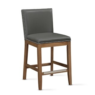 Sparta Leather Gel Counter Stool