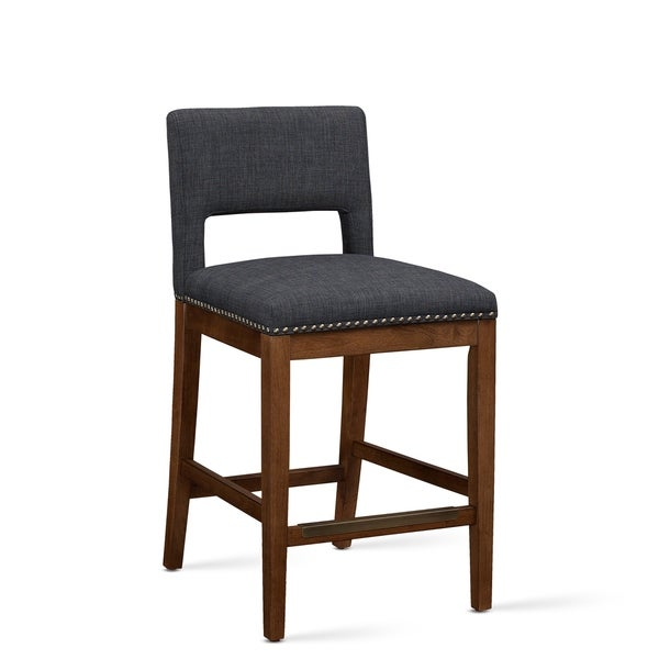 Robbins Dark Grey Counter Stool by Greyson Living