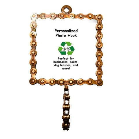 Square Bicycle Chain Picture Frame Hook (India)