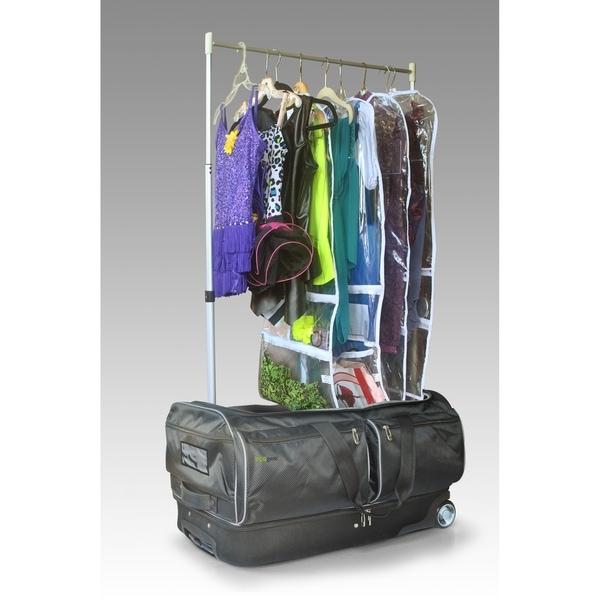 Shop 28 Inch Wheeled Duffel With Garment Rack Free