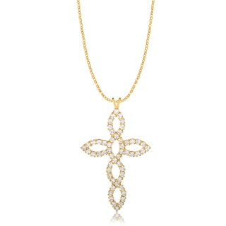 Gold Plated Cross Pendant