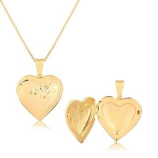 Classic Gold Heart Locket