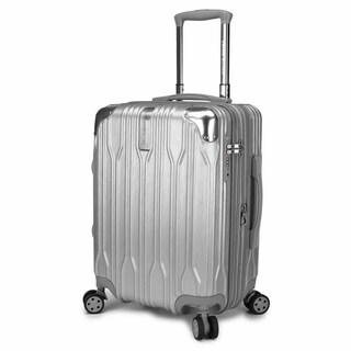 """Traveler's Choice Bell Weather 20"""" Hardside Expandable Spinner Luggage"""