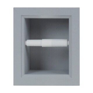 Wheaton Recessed Toilet Paper Holder - 10h x 8.5w x 3.5d